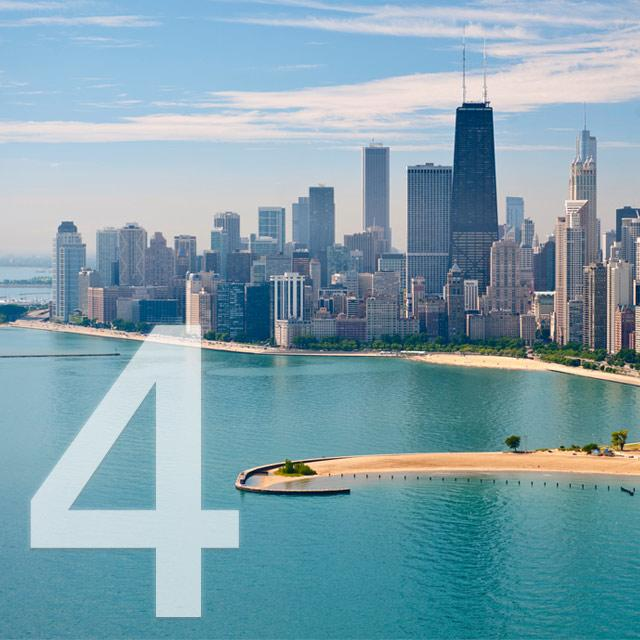 Reasons to Visit Chicago - Lakefront Beaches
