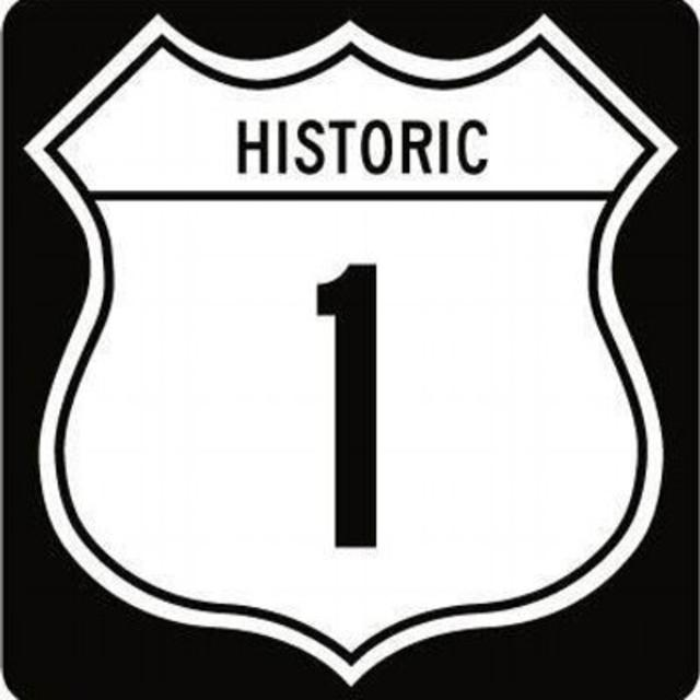 NEW Historic Route 1