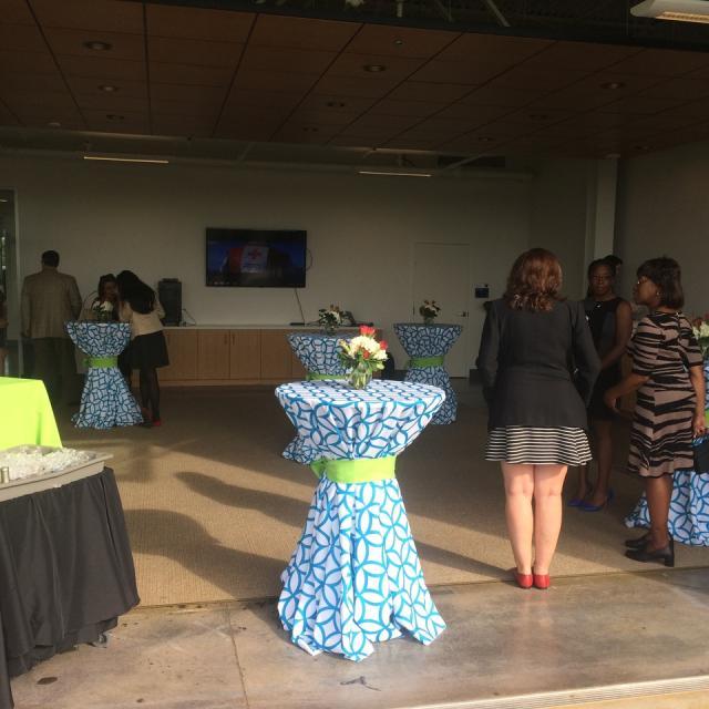 Reception event