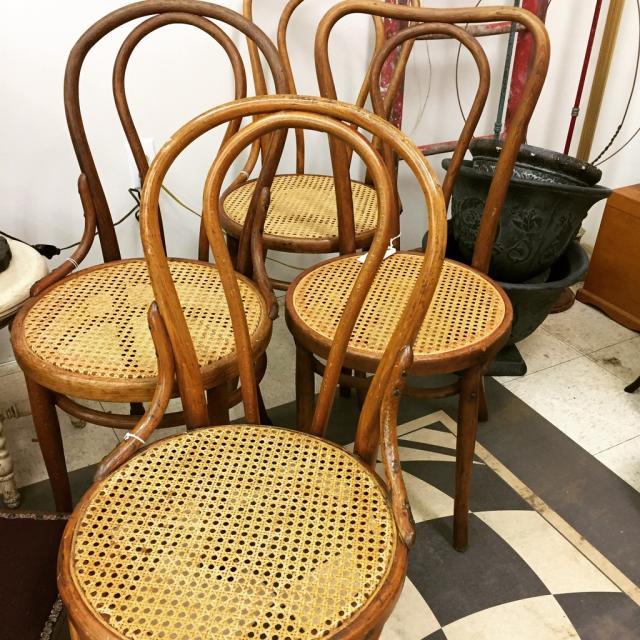 Bent wood chaires
