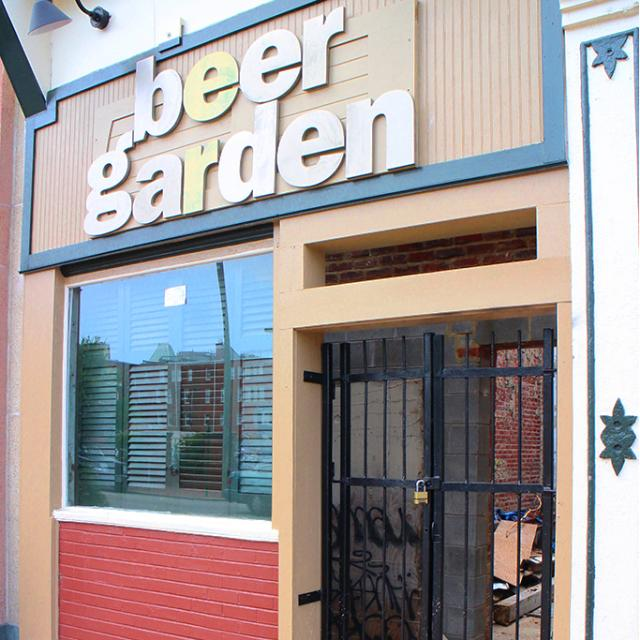 jacksons beer garden