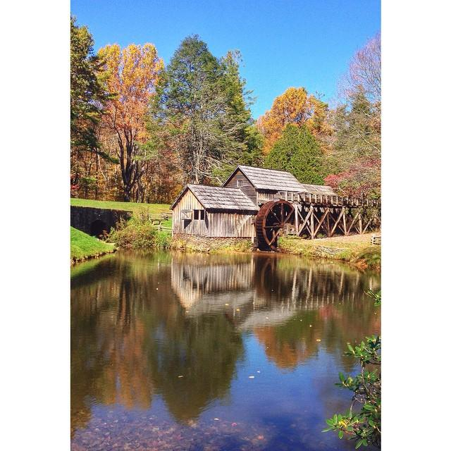 Mabry Mill Fall Colors - Fall Photo