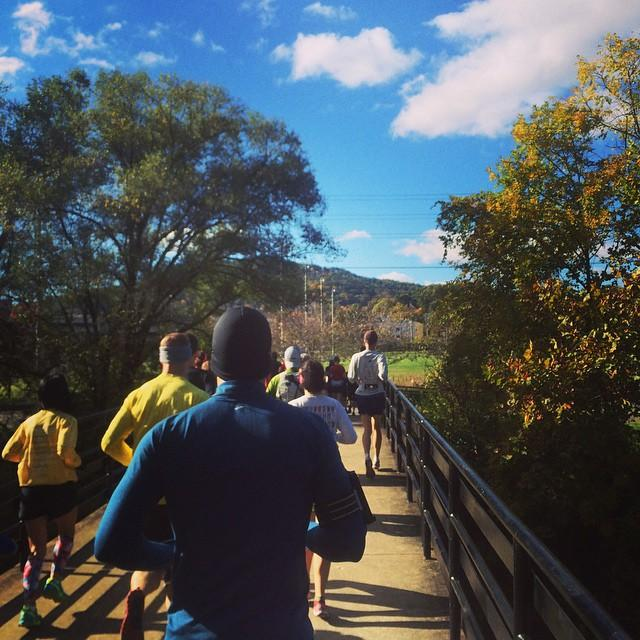 Fall Greenway Run - Fall Photo