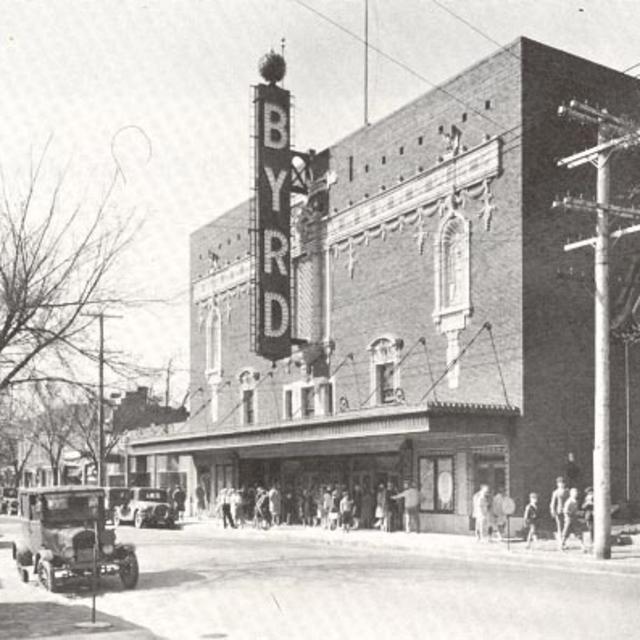 Byrd facade in 1928