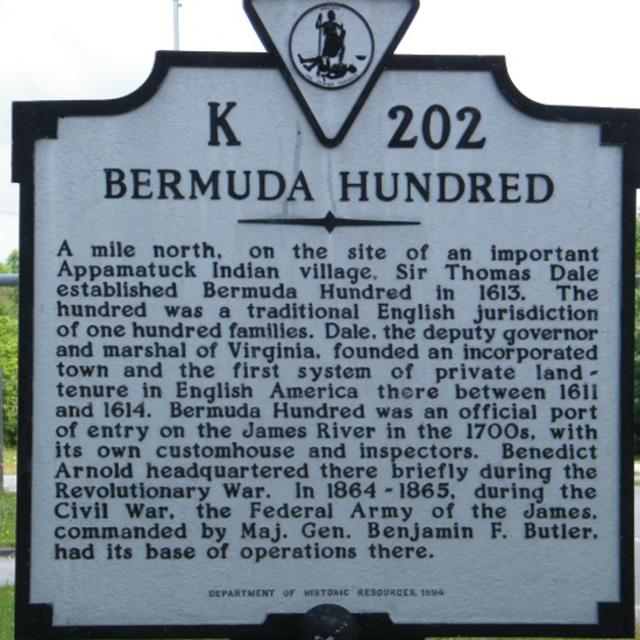 NEW Bermuda Hundred