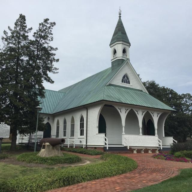 NEW Confederate War Memorial Chapel