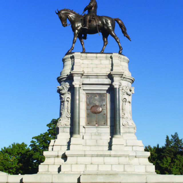 Monument Avenue - Robert E Lee
