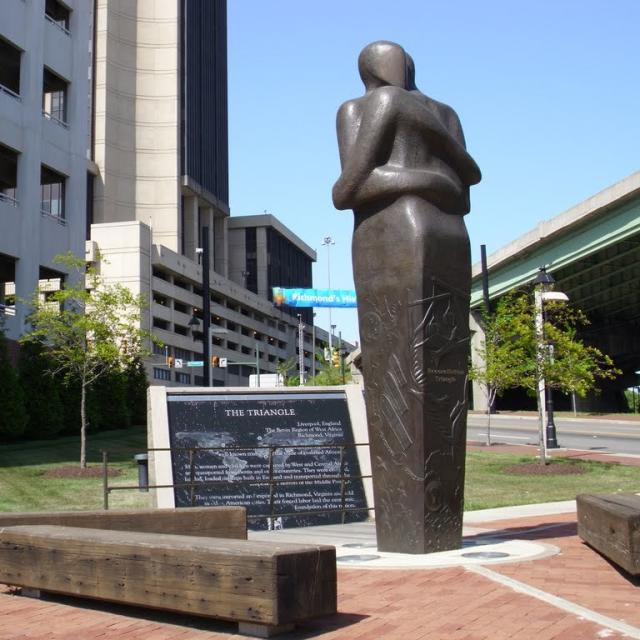 NEW Richmond Slavery Reconciliation Statue