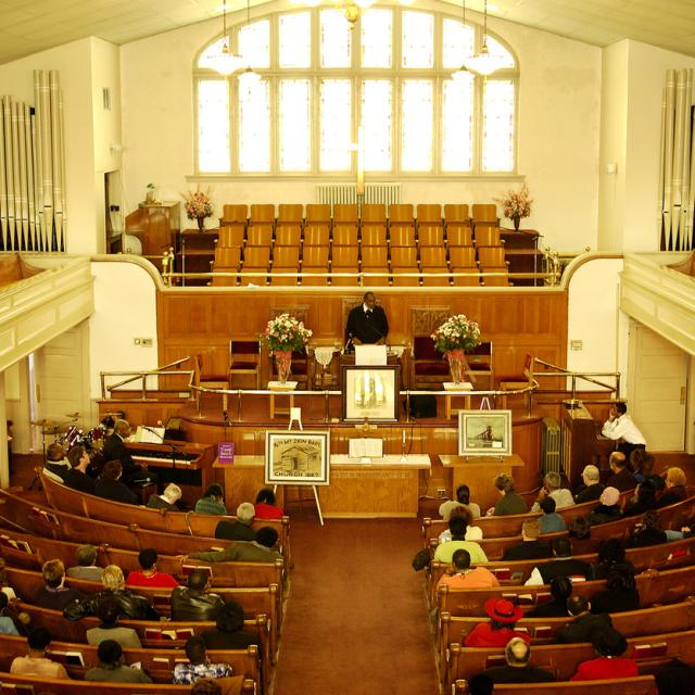 SixthMountZion Interior