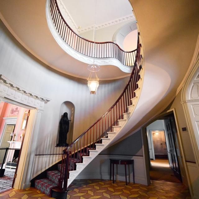 The Wickham House Staircase is beautiful.