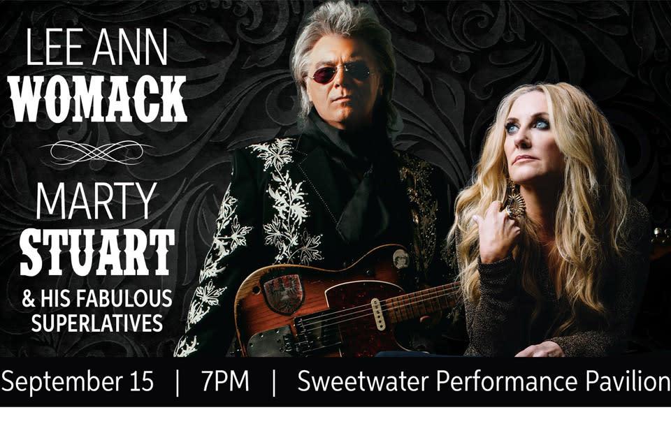 Lee Ann Womack & Marty Stuart Concert in Fort Wayne, Indiana