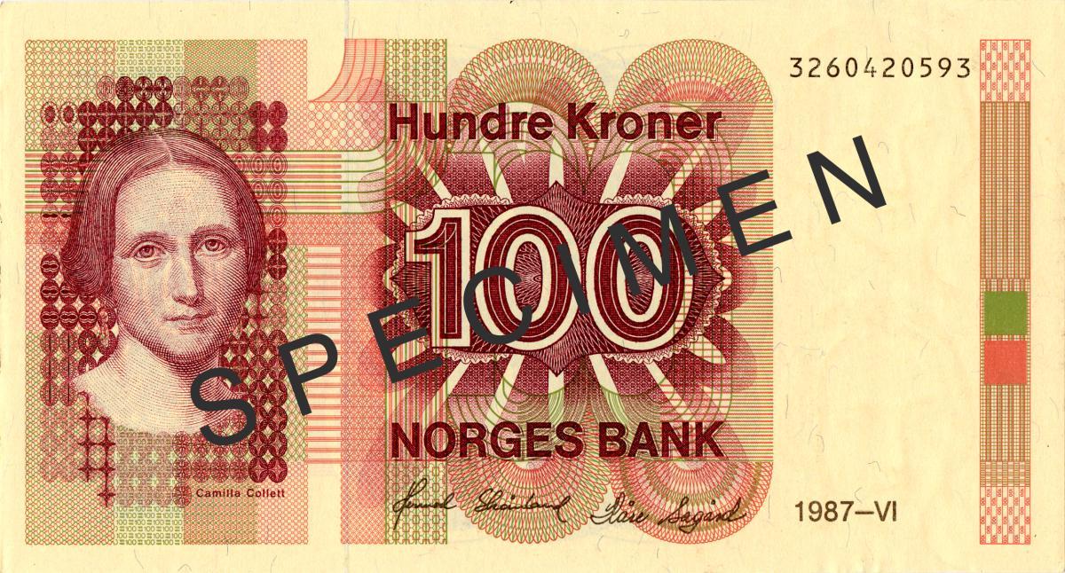 100 kroner (1987)