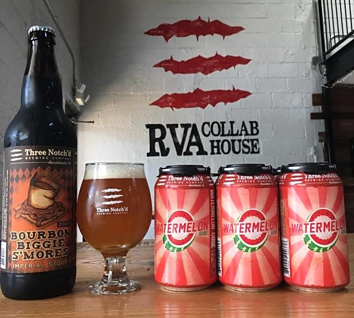 Three Notch'd Brewing RVA Collab House