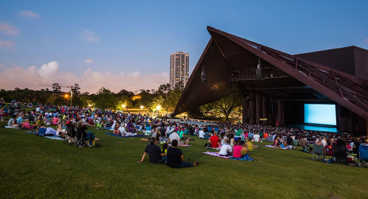 Miller Outdoor Theatre in Houston