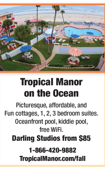Tropical Manor Fall Newsletter