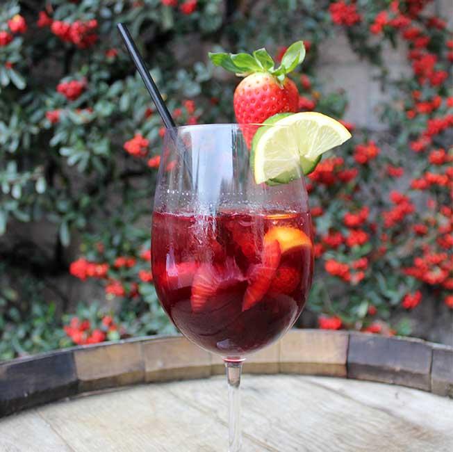 Vineyard Rose Jack of Hearts Cocktail