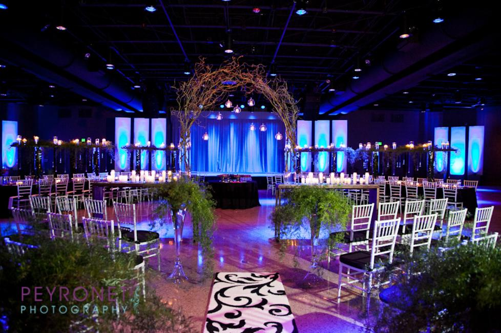Wedding Ceremony & Reception Set Up