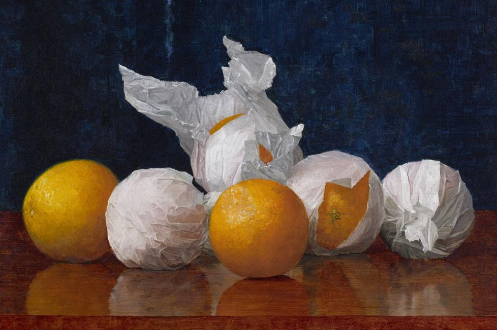 Wrapped Oranges