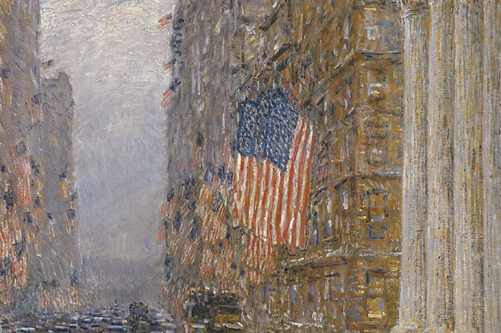 Flags on the Waldorf