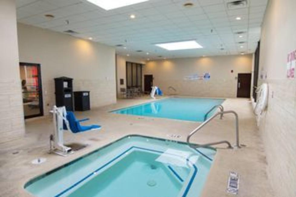 Our Indoor Pool & Whirlpool