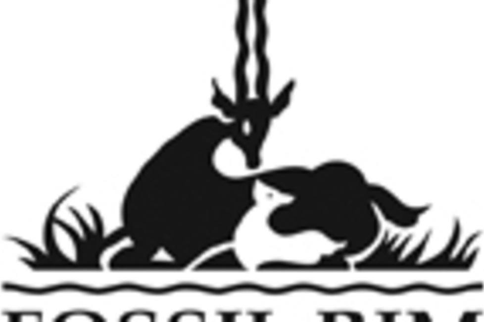 Fossil Rim Black Logo
