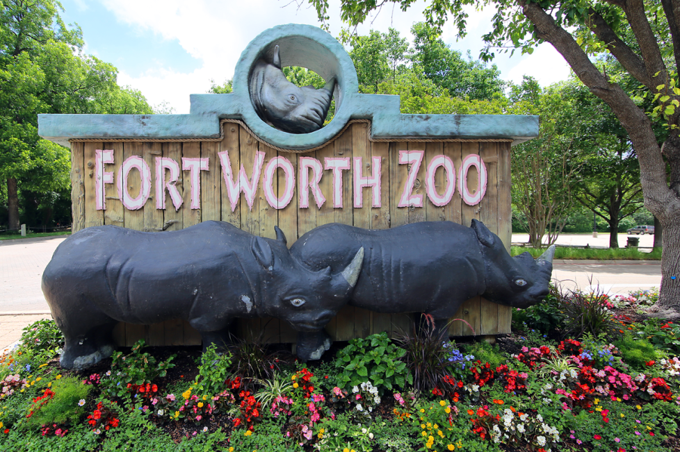 Fort Worth Zoo Entrance
