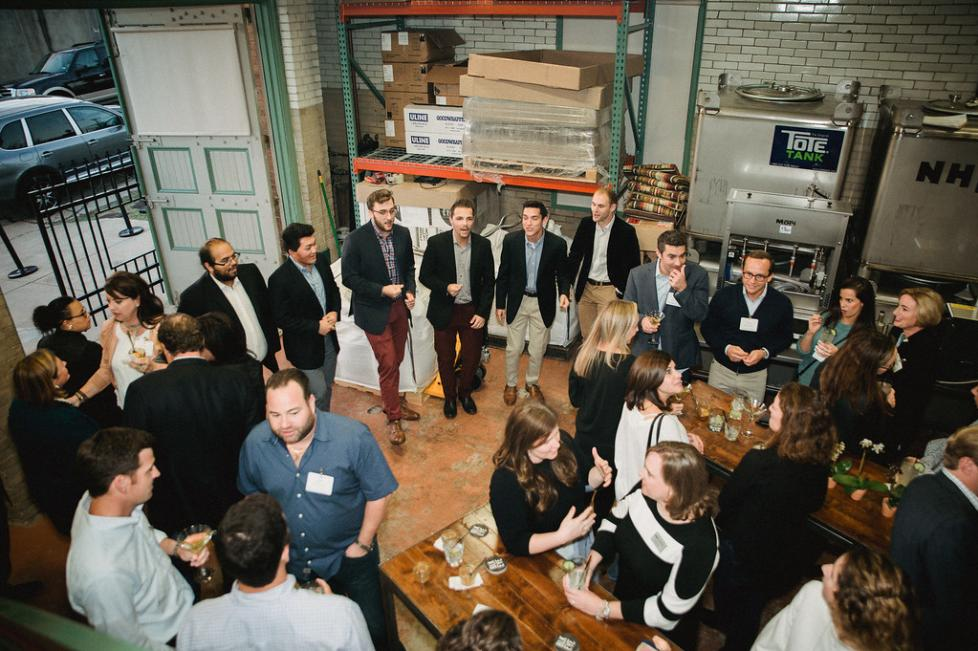BlackEyed Distilling hosts an event