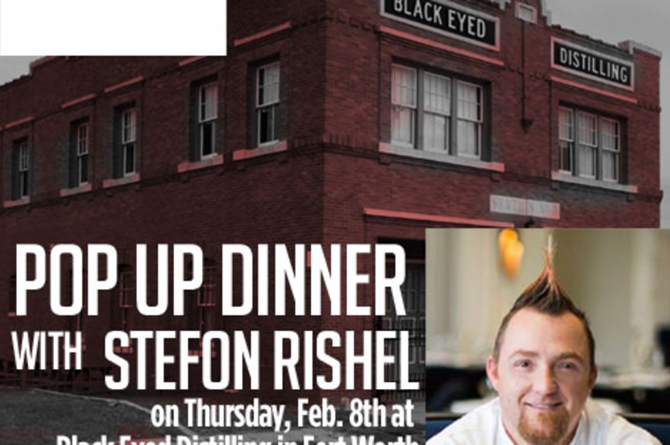 Pop-Up with Chef Stefon Rishel