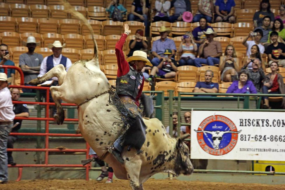 Stockyards Rodeo Bull Riding