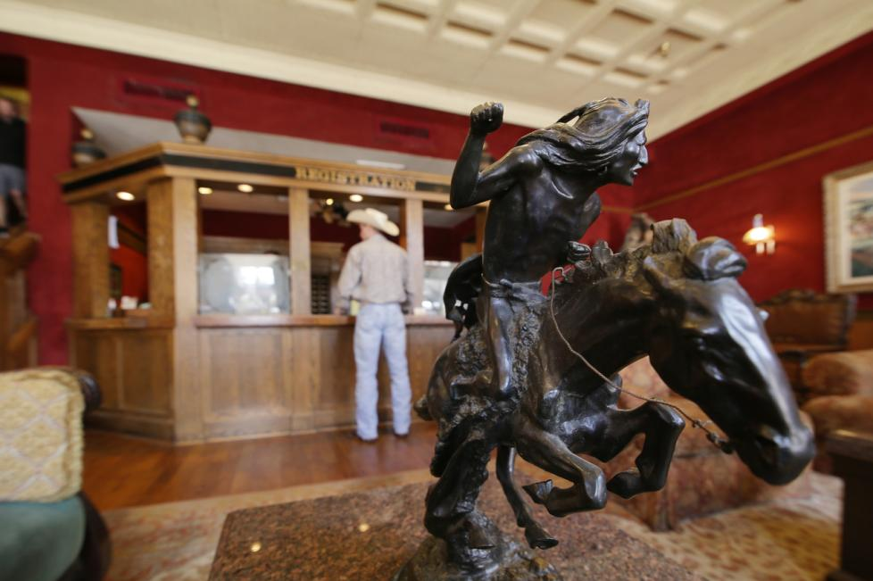 Stockyards Hotel Lobby