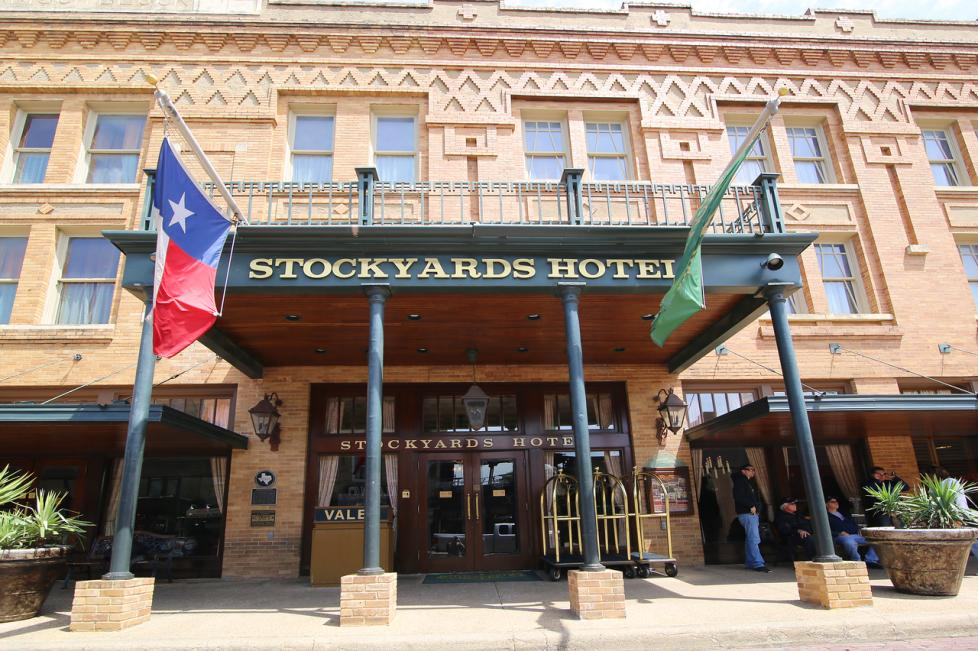 Stockyards Hotel Exterior