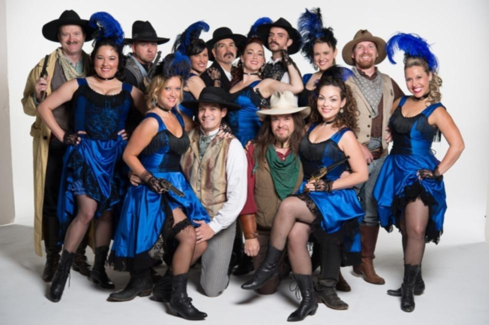 Gunfighters and Saloon Girls