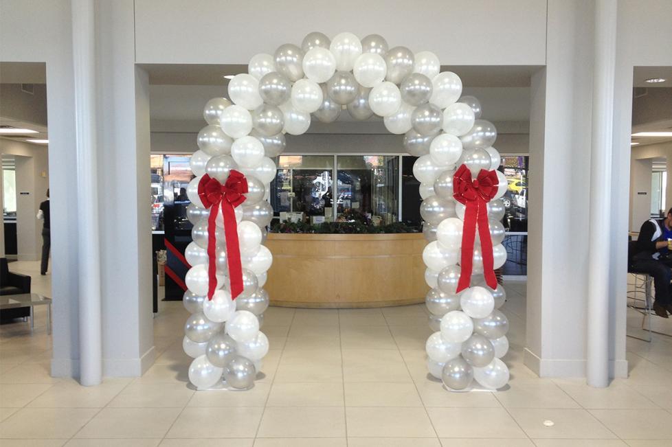 Elegant Balloon Arch