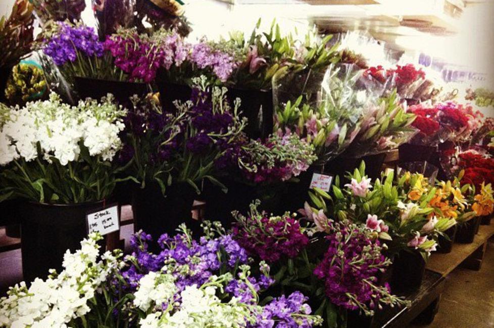 flower market on 7th