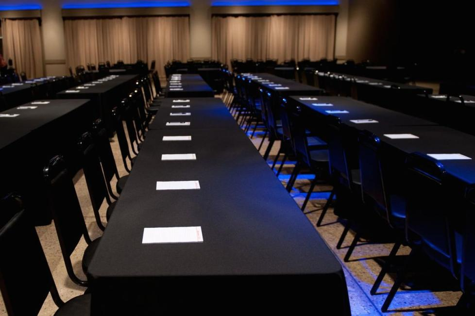 Tables and Linens Provided for Any Event