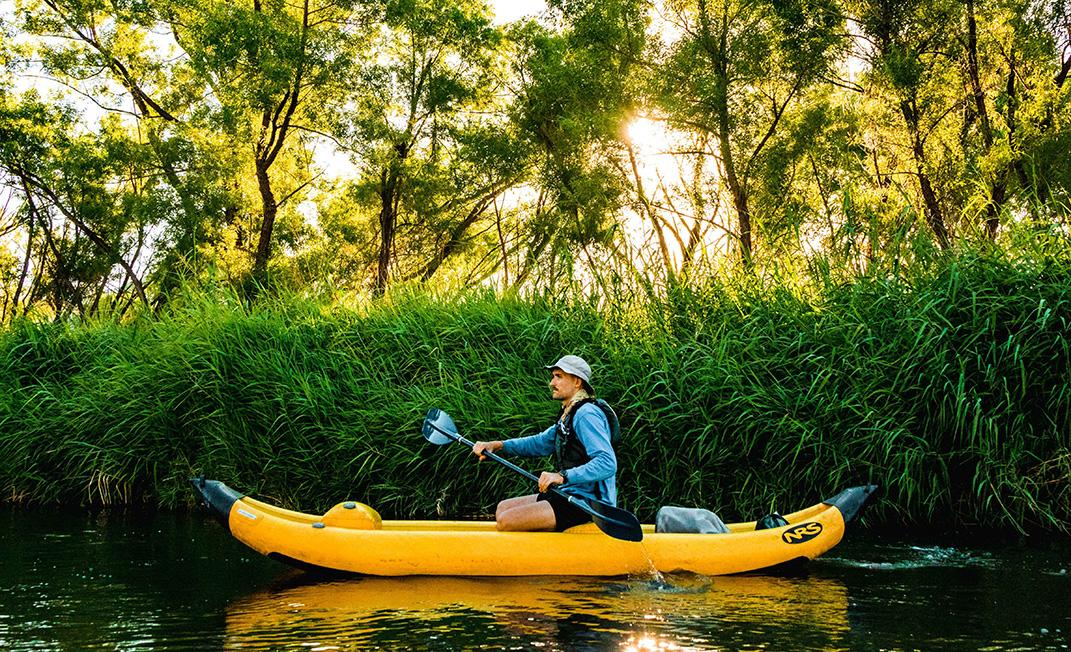 8 reasons to visit - kayaking - body