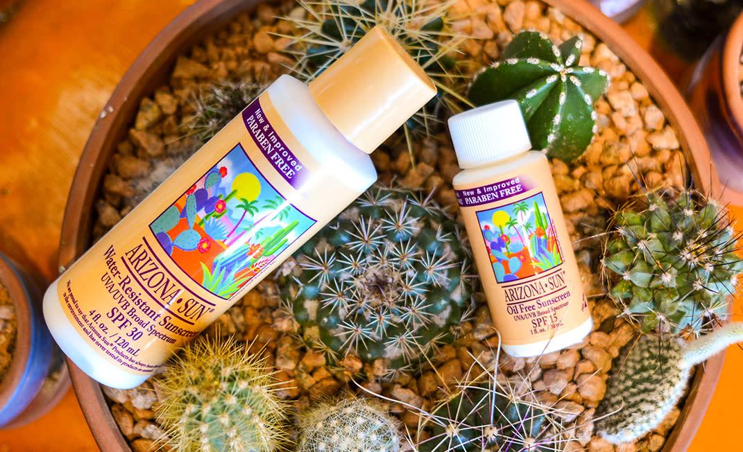 summer essentials - sunscreen - body