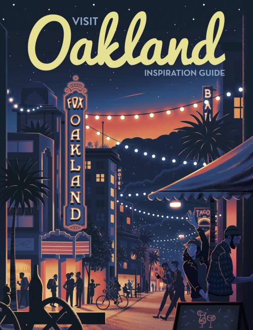 2018 Visit Oakland Inspiration Guide Cover