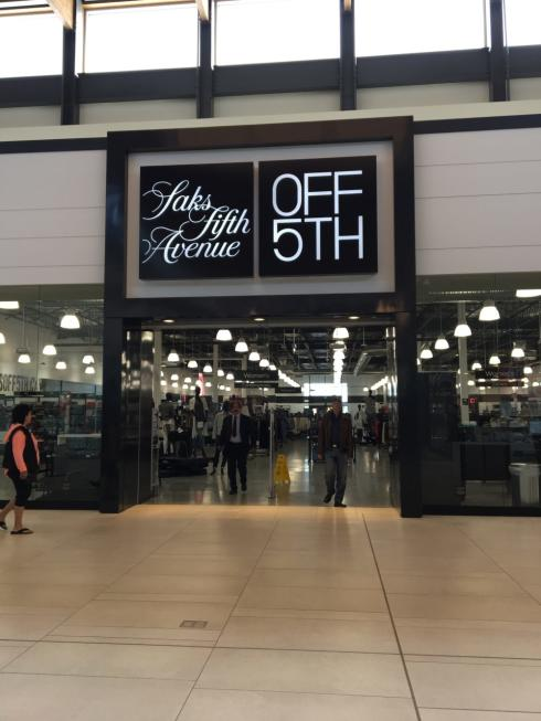 Saks Off 5th at OC Winnipeg