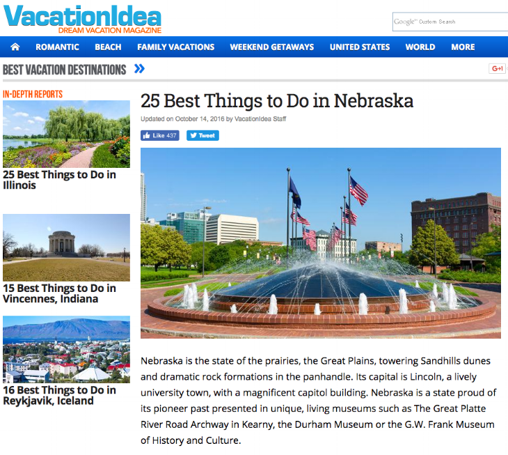 25 Best Things to do in Nebraska