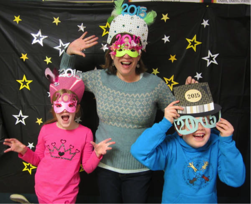 New Year's Eve at the Library
