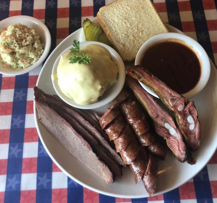 T-Bone Tom's Meat Plate