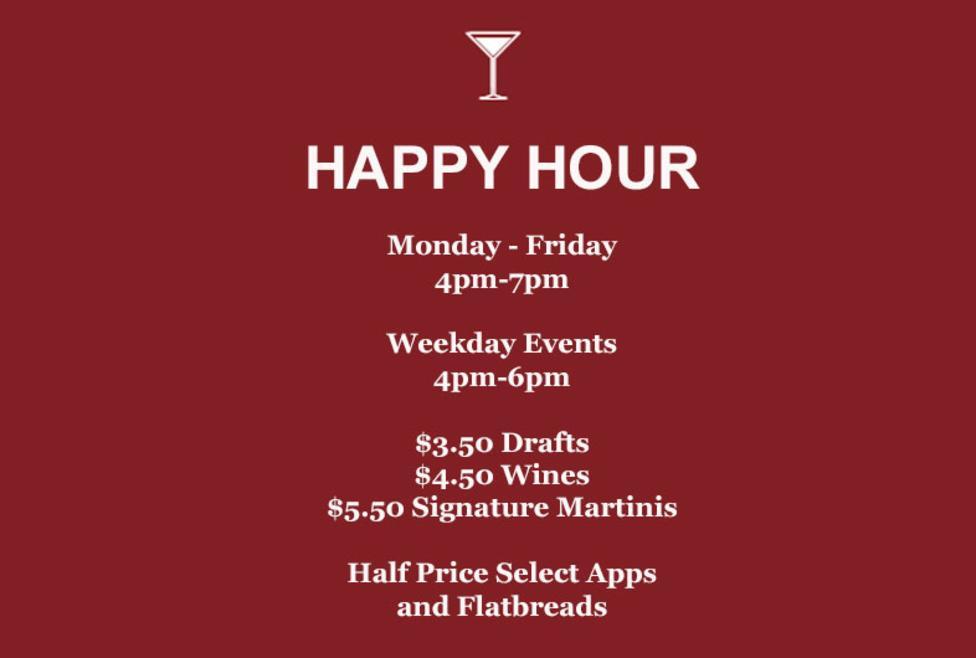 Bar Louie Happy Hour