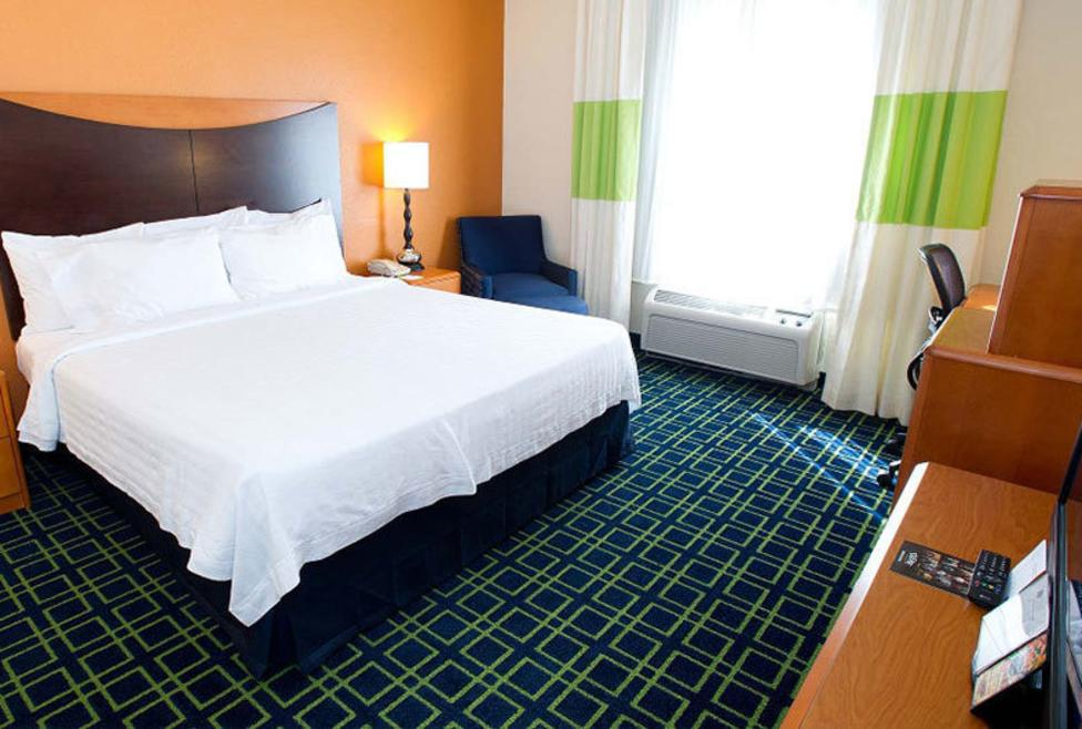Fairfield Inn & Suites - DFW Airport North - King