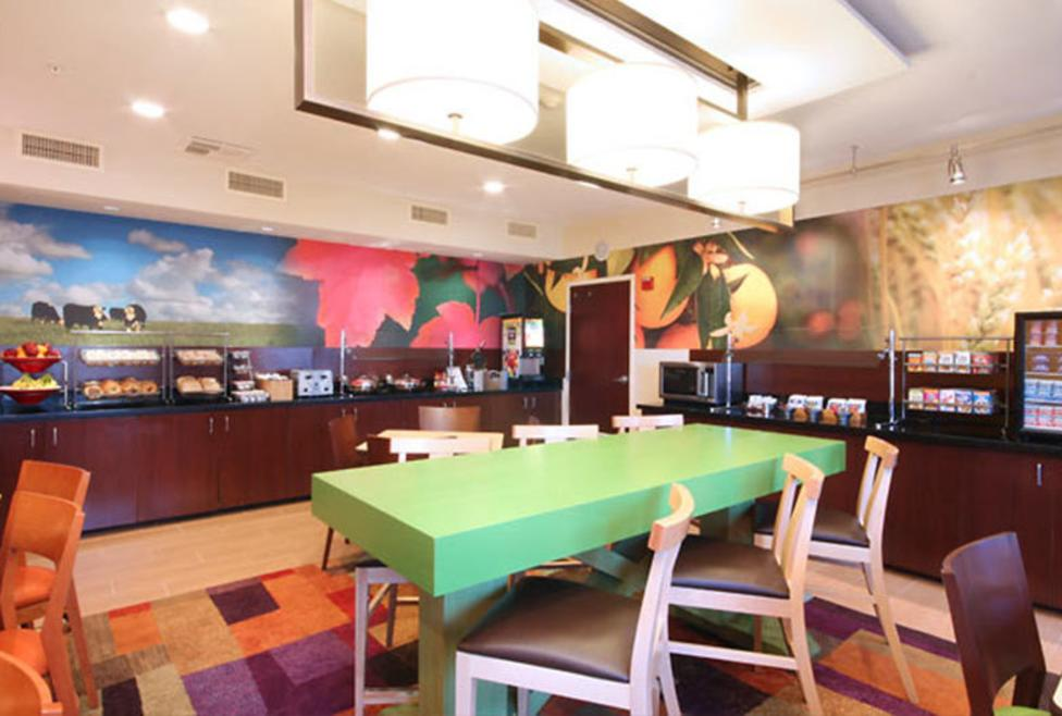 Fairfield Inn & Suites - Las Colinas - Cafe
