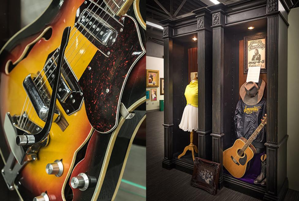 Texas Musicians Museum - Displays