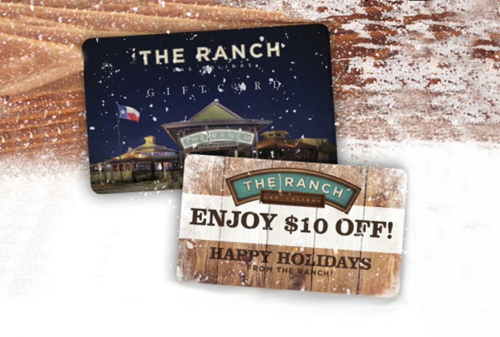 The Ranch Gift Card
