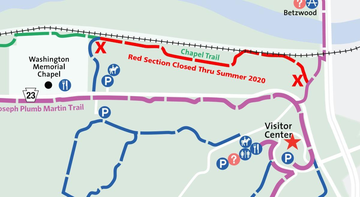 Chapel Trail Closure 1