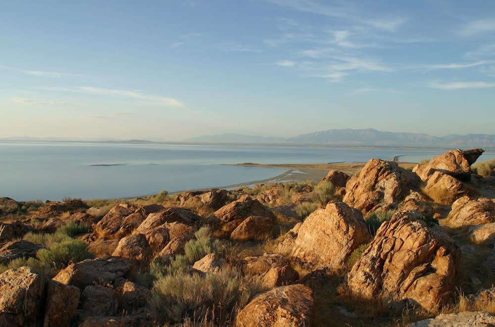Scenic Antelope Island