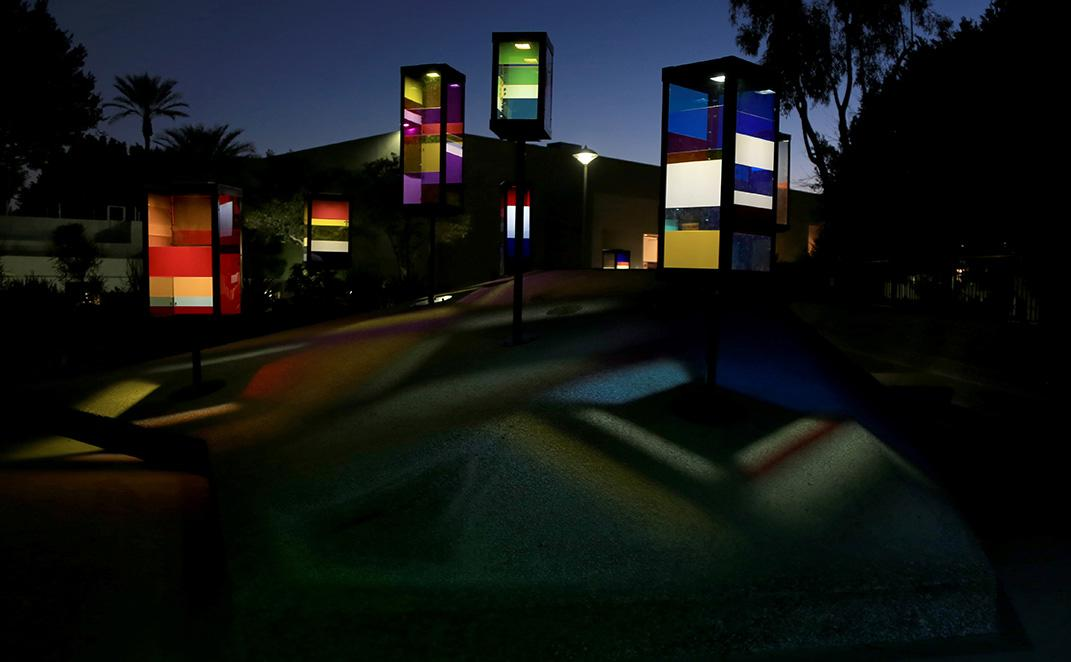 public art after dark - body